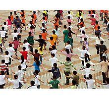 PE for the masses, Yangzhou, China Photographic Print