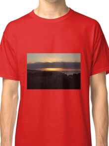 The sun sinks at Snellings Beach Classic T-Shirt