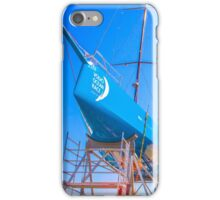 Volvo Ocean Race. estaleiro. boat yard iPhone Case/Skin