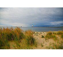 The quiet beach Photographic Print