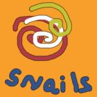 Snails with a twist TEE SHIRT/BABY GROW by Shoshonan