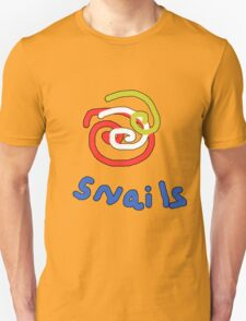Snails with a twist TEE SHIRT/BABY GROW Unisex T-Shirt