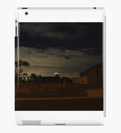 Quiet Suburb at Night iPad Case/Skin