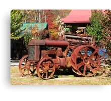 """""""Rusty Old Tractor"""" Canvas Print"""