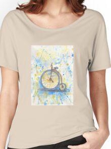 Antique high wheel bike Women's Relaxed Fit T-Shirt