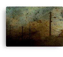 The Skies Grew Darker (It Made Our Hearts Seem Lighter) Canvas Print