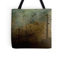 The Skies Grew Darker (It Made Our Hearts Seem Lighter) Tote Bag