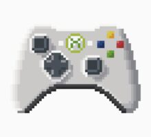 8Bit Xbox Controller One Piece - Long Sleeve