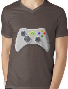 8Bit Xbox Controller Mens V-Neck T-Shirt