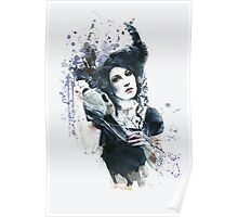 Reminders Abstract Portrait Poster
