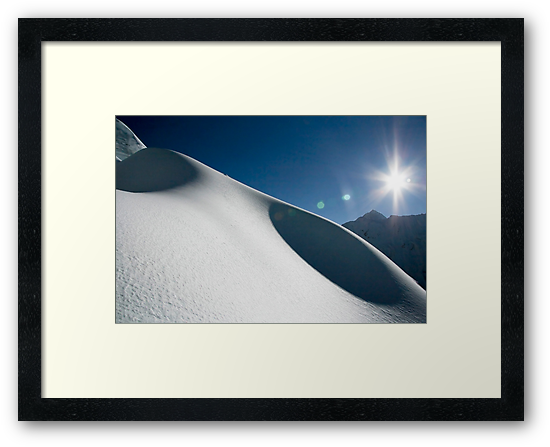 Snow Dunes by Richard Heath