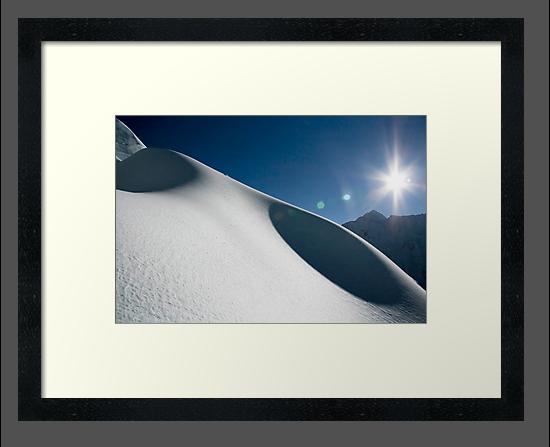 Snow Dunes by Richard Heath