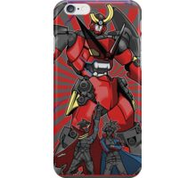 Pierce the Heavens (Red Version) iPhone Case/Skin