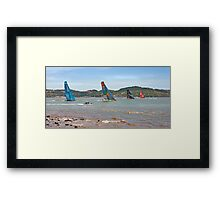 regatta Framed Print