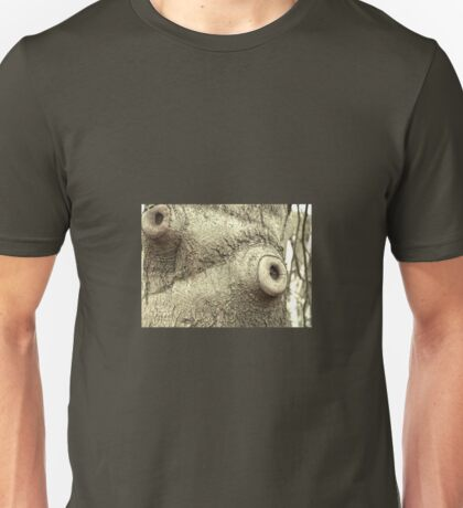 KNOTTED TREE TRUNK Unisex T-Shirt