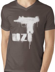 UZI Mens V-Neck T-Shirt