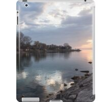 Limpid - Crystal Clear Peaceful Waterfront Sunrise iPad Case/Skin