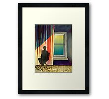 Casting Chair Framed Print