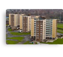 Leeds - A Utopia Canvas Print