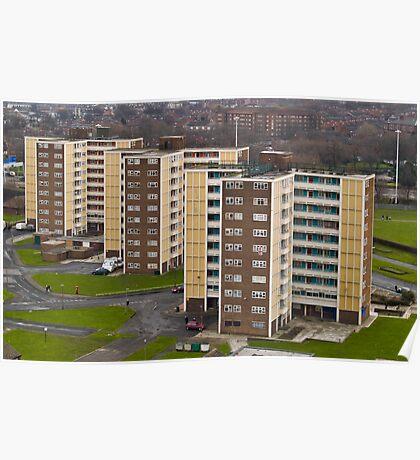 Leeds - A Utopia Poster