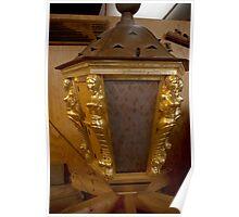 "Golden ship lantern for ""De 7 Provinciën"" Poster"