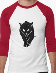 Sunderland Black Cat Men's Baseball ¾ T-Shirt