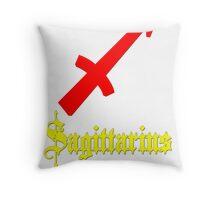 Sagittarius, November 22 - December 21 Throw Pillow
