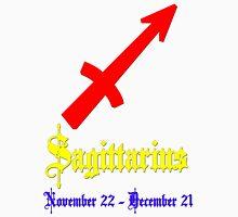 Sagittarius, November 22 - December 21 Unisex T-Shirt