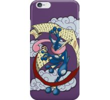 Frog Ninja Arts iPhone Case/Skin