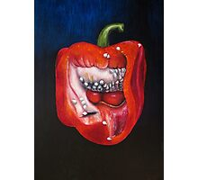 Pepper oil painting Photographic Print