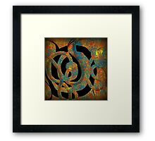Unique Decorative Abstract Framed Print