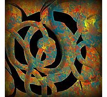 Unique Decorative Abstract Photographic Print