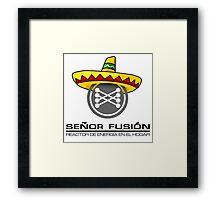 Señor fusión - Mr.Fusion mexican edition Framed Print