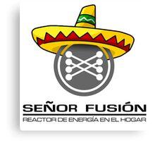 Señor fusión - Mr.Fusion mexican edition Canvas Print