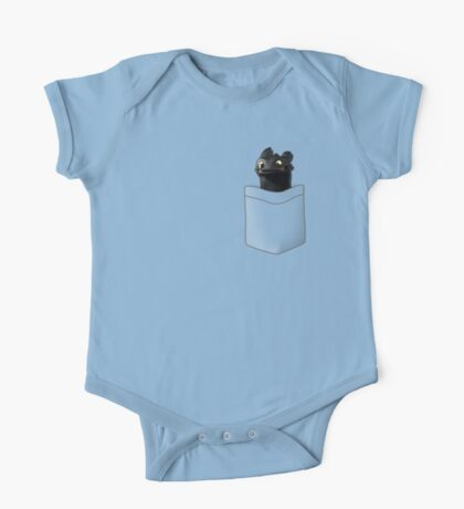 Toothless in your Pocket t shirt One Piece - Short Sleeve