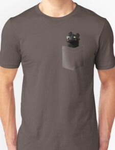 Toothless in your Pocket t shirt Unisex T-Shirt
