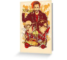 Mad Max Fury Road Greeting Card