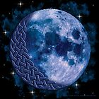 Celtic Blue Moon by foxvox