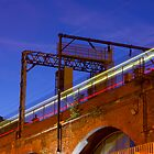 Railway Light Trails by Andrew Simner