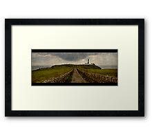 Cork Seaside Framed Print