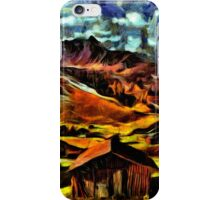Beautiful Village Fine Art Print iPhone Case/Skin