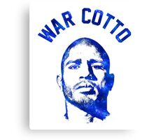 Miguel Cotto - War Cotto Canvas Print