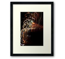 Twist and Shake Framed Print