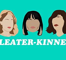 sleater-kinney faces by Luckythelab