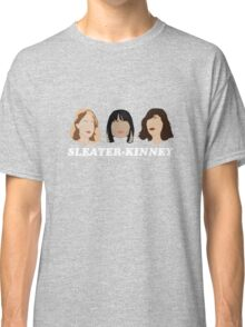 sleater-kinney faces Classic T-Shirt