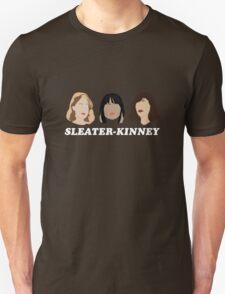 sleater-kinney faces Unisex T-Shirt