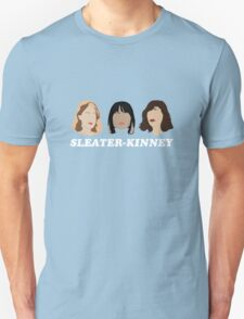 sleater-kinney faces T-Shirt