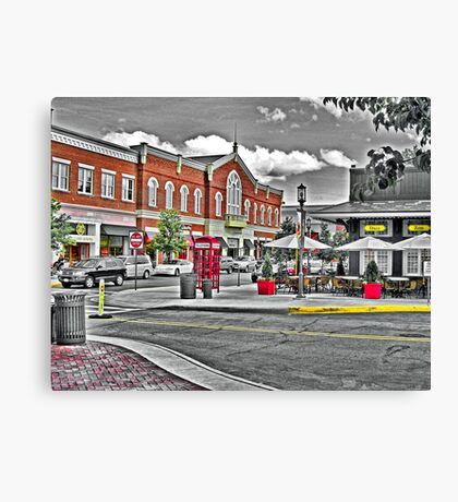 Easton Mall Canvas Print