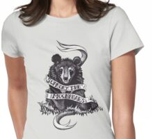 Support the Moonbears t-shirt Womens Fitted T-Shirt