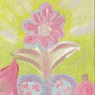 Painted Pastel Plant by KazM